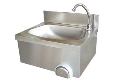 Санитарна мивка с бутон